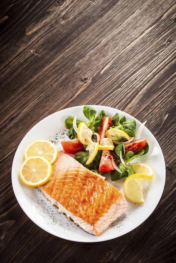 recetas en microondas salmon