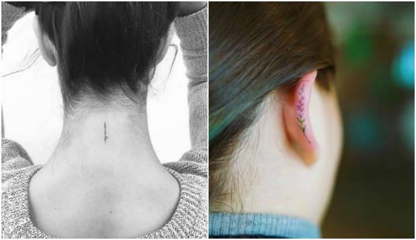 sensual hidden tattoos ear