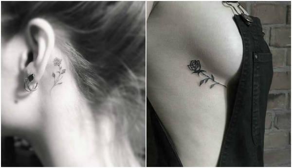 sensual hidden tattoos flowers