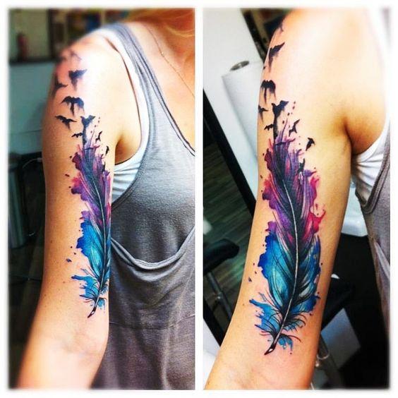 5 Ideas De Tatuajes En El Brazo Que Te Puedes Hacer Sin Sufrir Tanto - Brazo-tatuaje