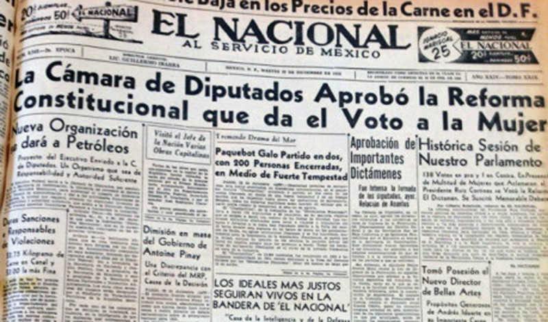A 62 Anos Del Voto Femenino En Mexico La Democracia Esta Libre De Sexismo Noticias