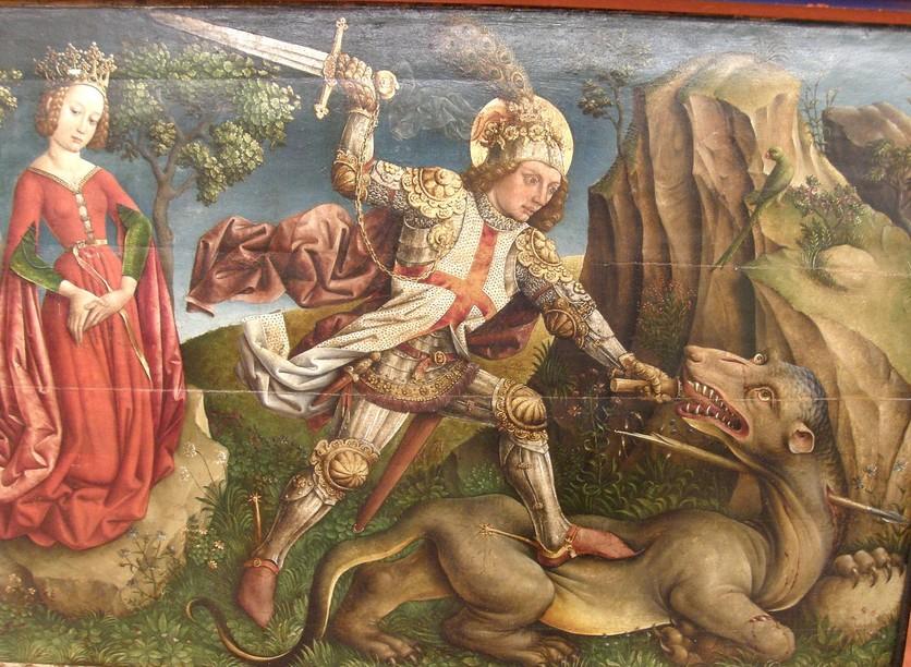 Los dragones en la historia del arte 6