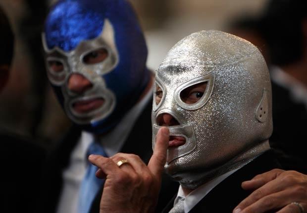 El Santo, el Cavernario y la Lucha Libre Mexicana en 12 fotografías 1