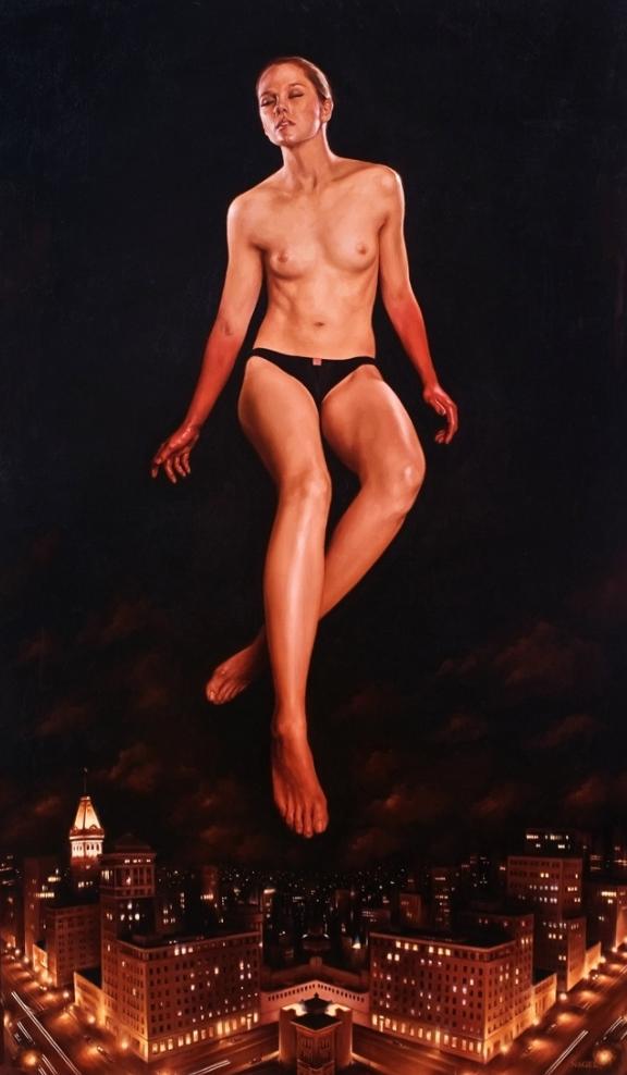 10 pinturas al óleo que mezclan lo divino del sexo con la religión 9