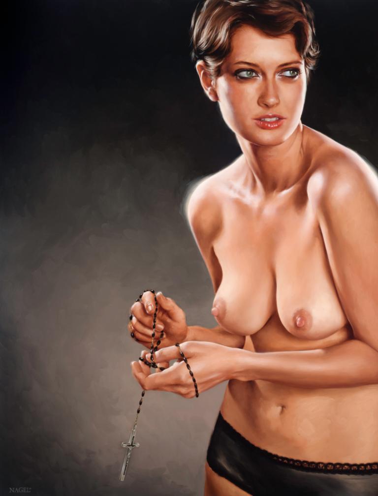10 pinturas al óleo que mezclan lo divino del sexo con la religión 0