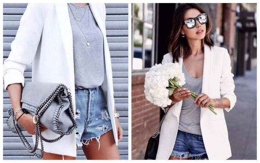 Tips para usar un blazer blanco todos los días 0
