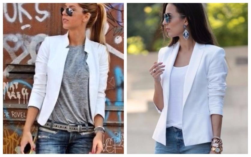 Tips para usar un blazer blanco todos los días 2