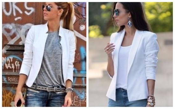 Tips Para Usar Un Blazer Blanco Todos Los Du00edas - Moda