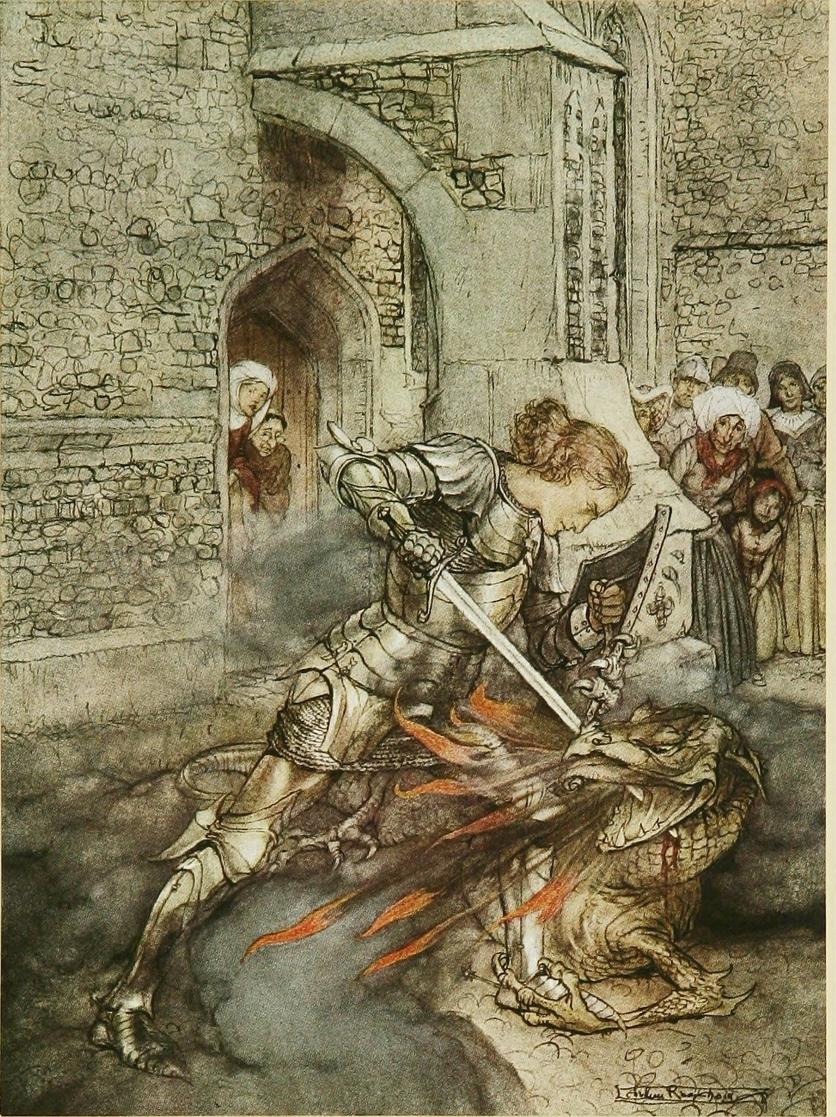 Los dragones en la historia del arte 9