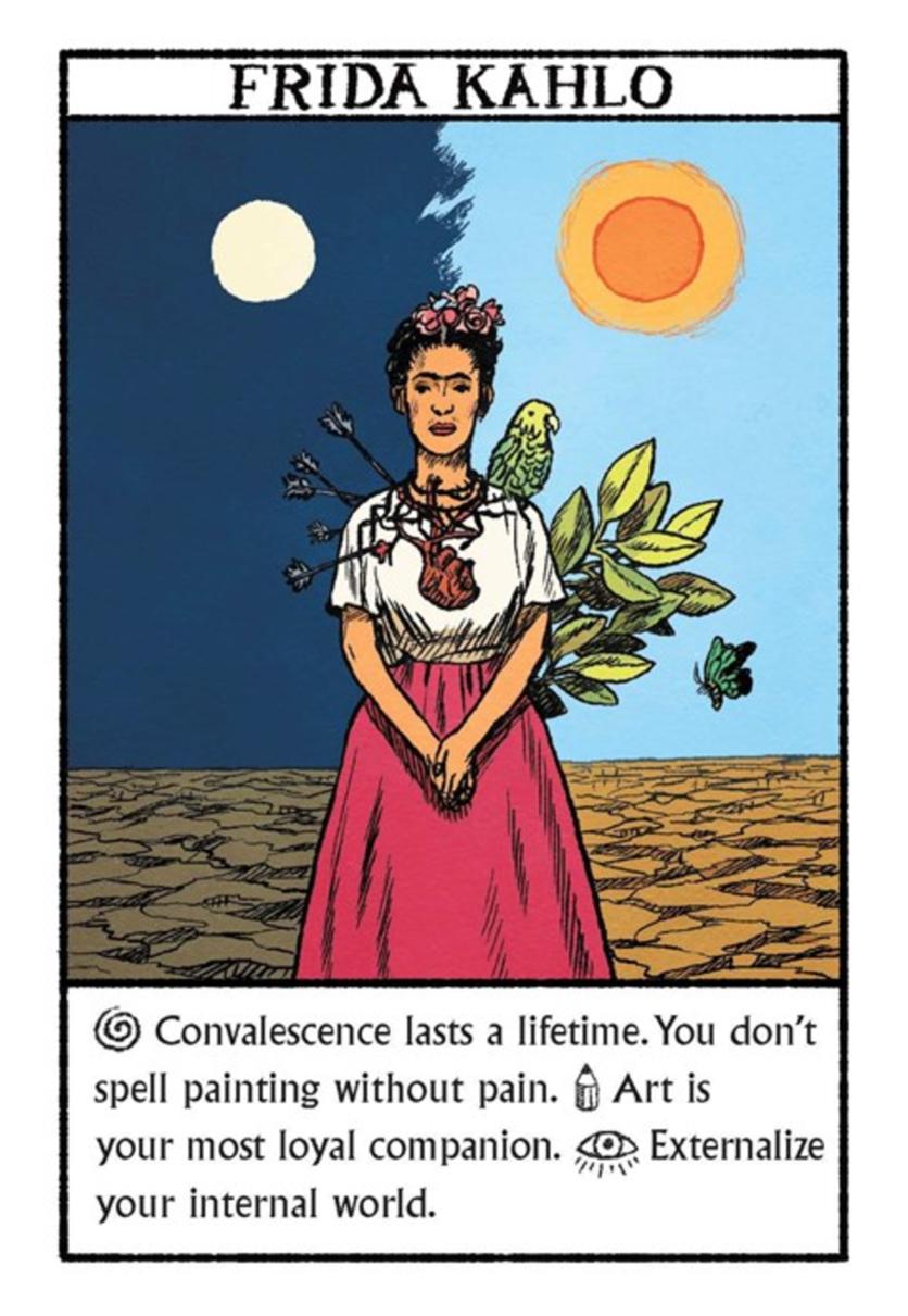 Tu oráculo según Salvador Dalí, Andy Warhol y Frida Kahlo 7