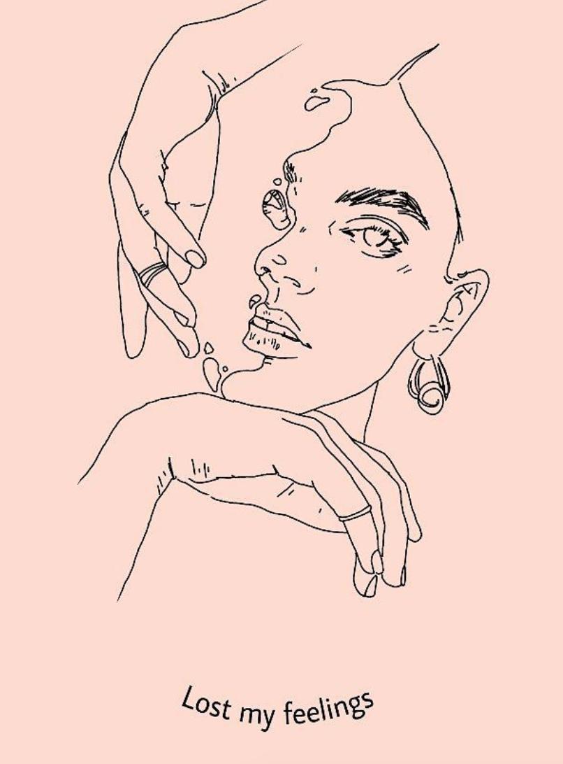 Ilustraciones de mis sentimientos perdidos y confusos 16