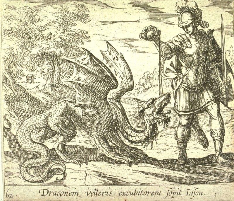 Los dragones en la historia del arte 8
