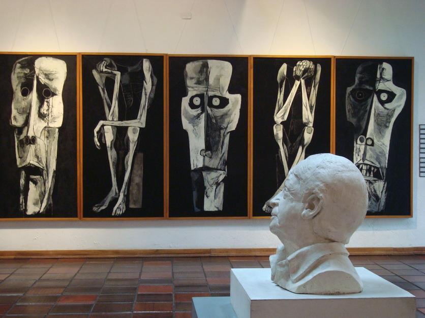 Las pinturas cubistas que muestran el dolor, la miseria y la injusticia humana 4