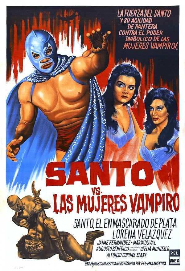 8 películas que demuestran que El Santo fue el mejor héroe del cine mexicano 0