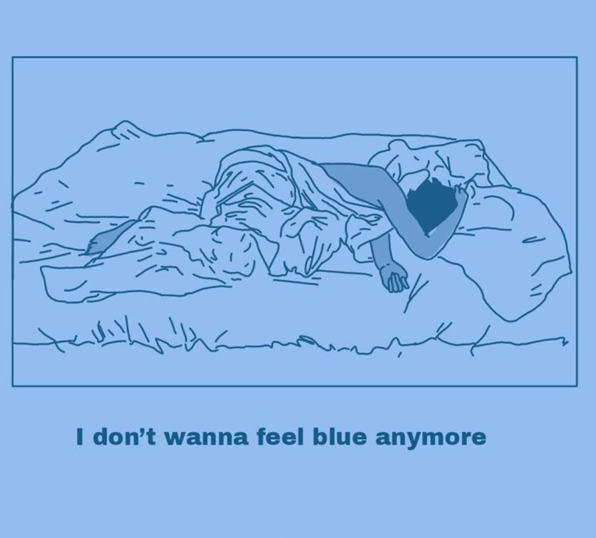 Ilustraciones de mis sentimientos perdidos y confusos 17