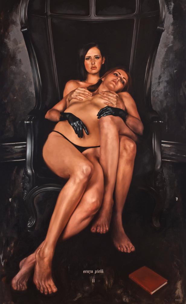 10 pinturas al óleo que mezclan lo divino del sexo con la religión 2