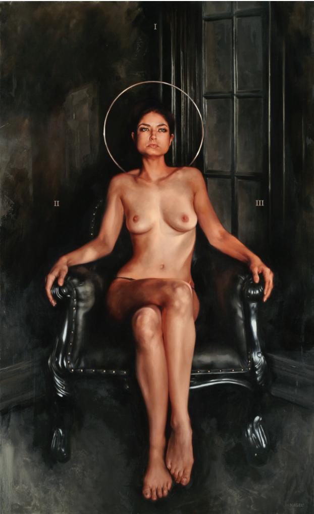 10 pinturas al óleo que mezclan lo divino del sexo con la religión 4