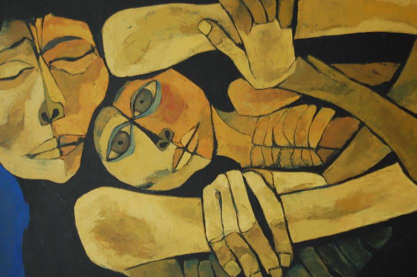 Las pinturas cubistas que muestran el dolor, la miseria y la injusticia humana 2