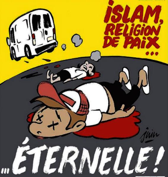 charlie hebdo se burla del islam 1
