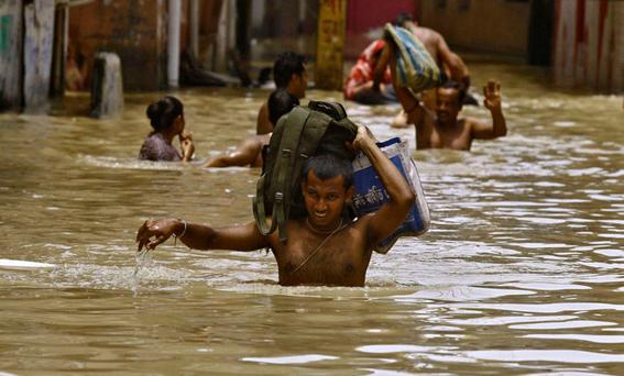 inundaciones en asia 4
