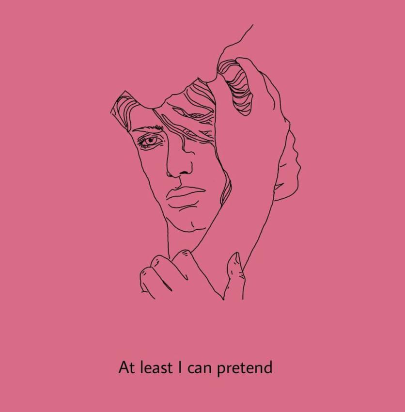 Ilustraciones de mis sentimientos perdidos y confusos 12