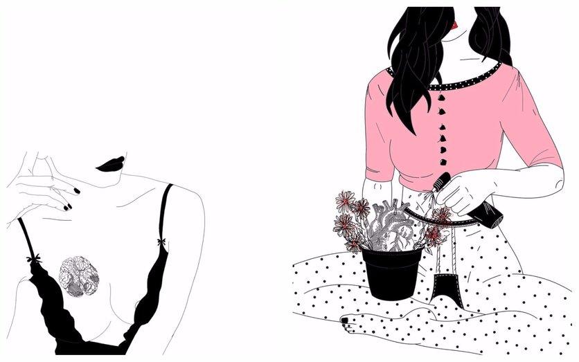 Los secretos de la seducción femenina en 14 ilustraciones 1