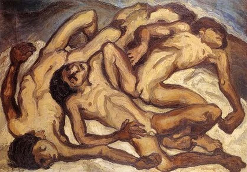 Las pinturas cubistas que muestran el dolor, la miseria y la injusticia humana 5