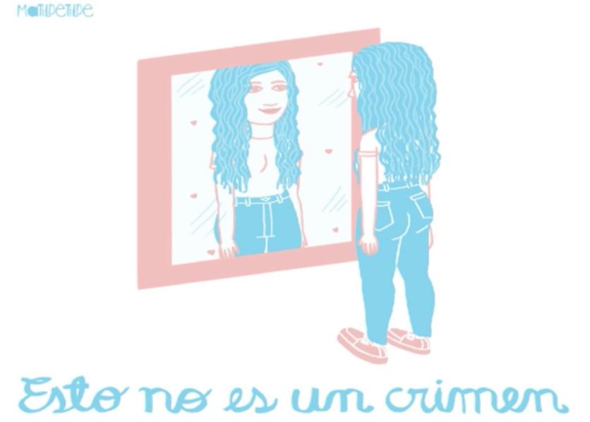 Ilustraciones de los defectos que todas las mujeres imaginamos tener 4