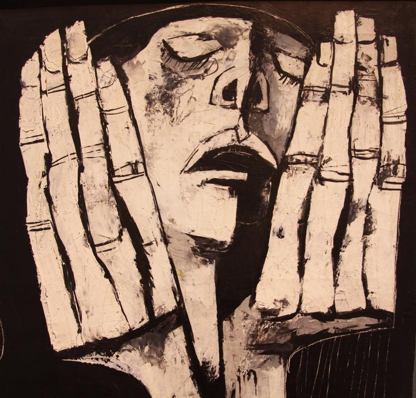 Las pinturas cubistas que muestran el dolor, la miseria y la injusticia humana 3