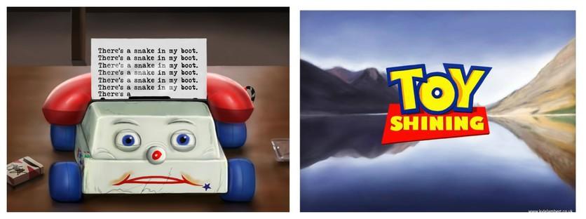 """El vínculo entre """"Toy Story"""" y """"El resplandor"""" 3"""