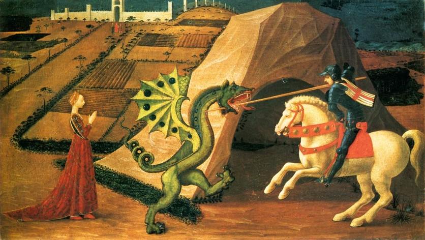 Los dragones en la historia del arte 5