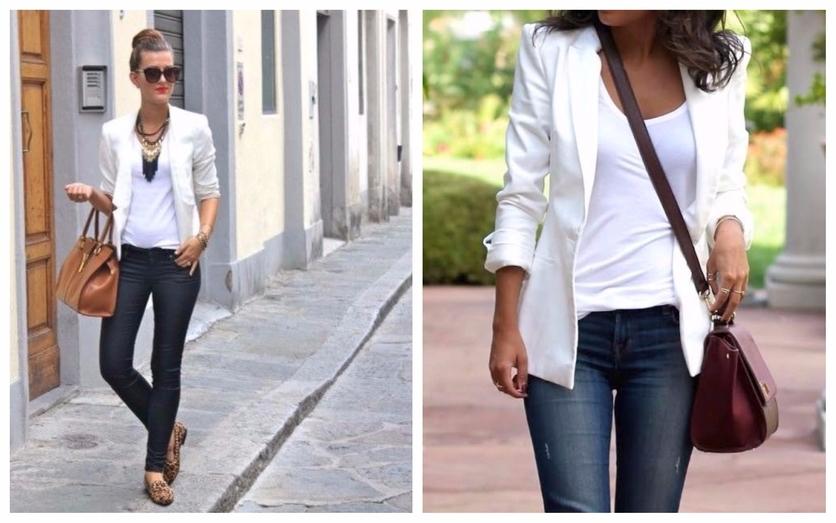 Tips para usar un blazer blanco todos los días 3