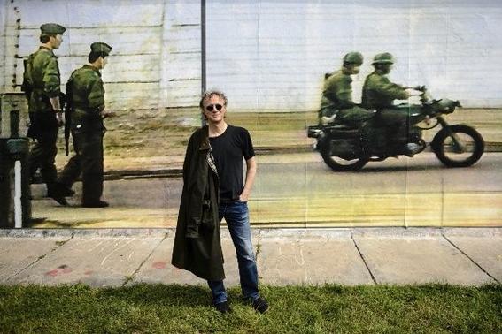 trazan la historia del muro de berlin 1