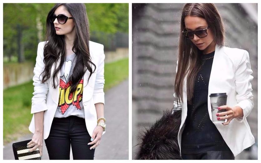 Tips para usar un blazer blanco todos los días 1