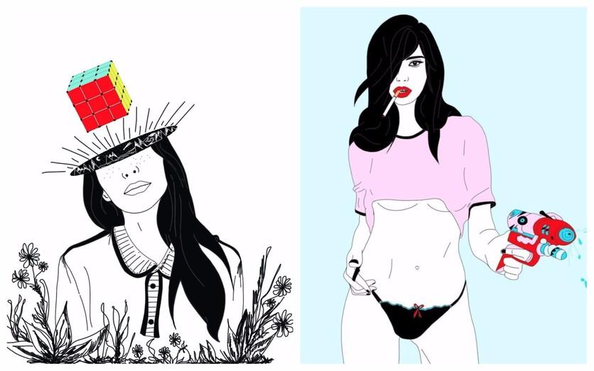 Los secretos de la seducción femenina en 14 ilustraciones 0