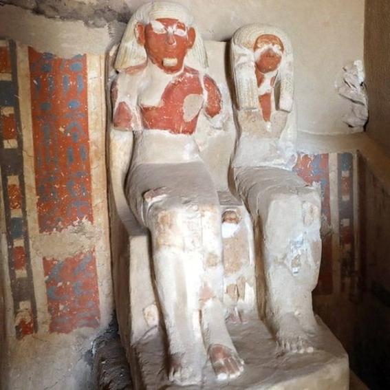 hallazgo en necropolis de egipto 2