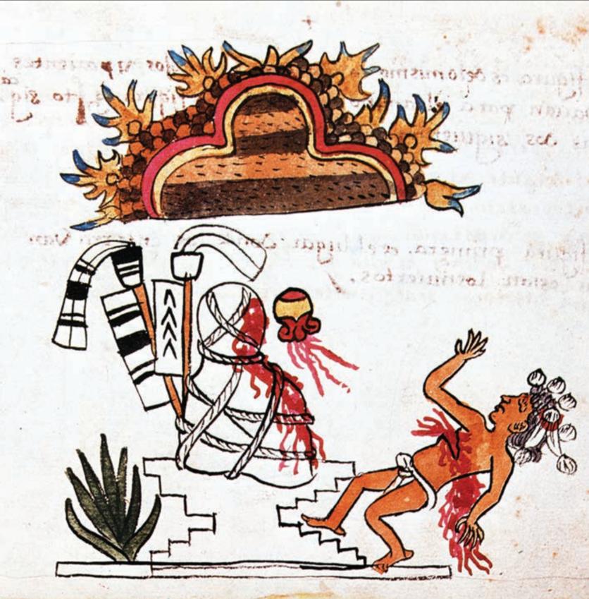 La diosa maya que alentó a miles a quitarse la vida 1