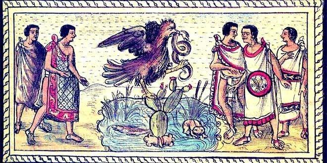 Los mexitin posteriormente conocidos como mexicas.