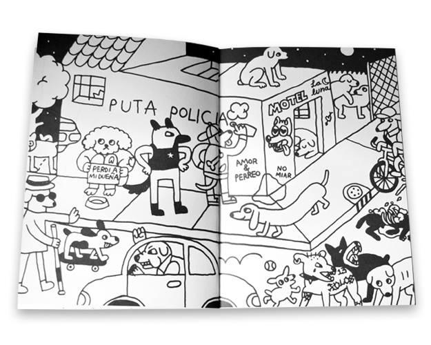 Ilustraciones que exponen la violencia y la hostilidad que se vive en Ecatepec 2