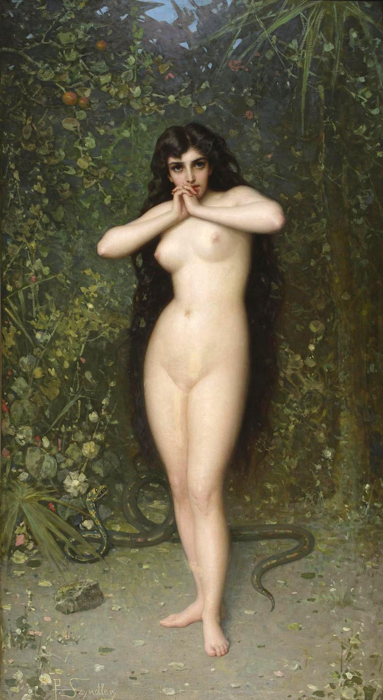 Esclavas sexuales y odaliscas en 5 pinturas eróticas 4