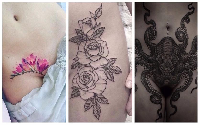 Tatuajes en la entrepierna para mujeres que no temen explotar su sensualidad 0