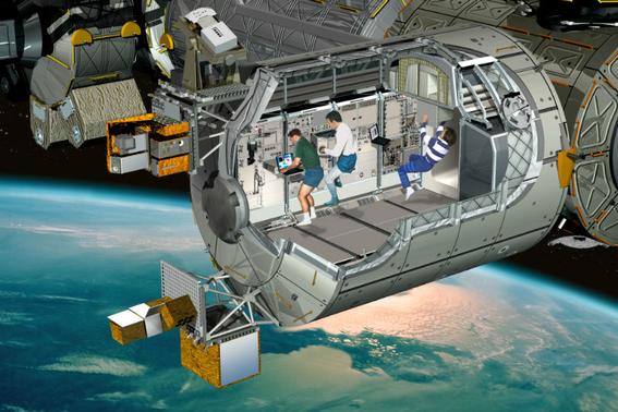 estacion espacial en la luna 1