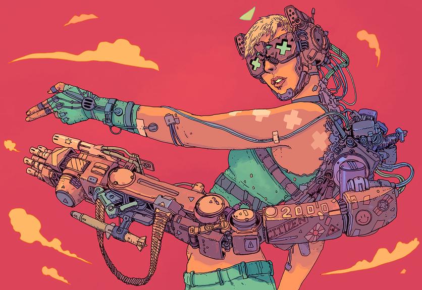 El sombrío y peligroso futuro de la humanidad en 20 ilustraciones 14
