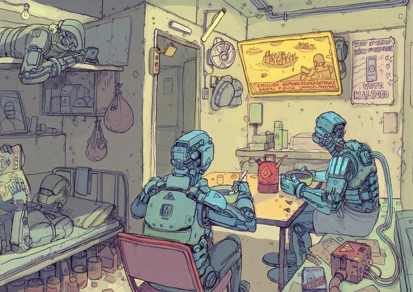 El sombrío y peligroso futuro de la humanidad en 20 ilustraciones 3