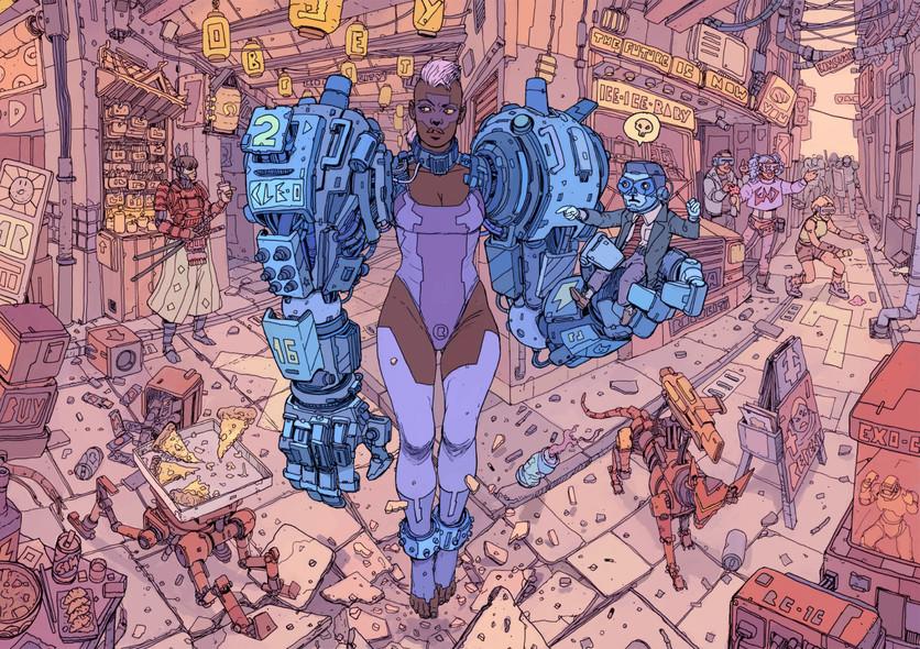El sombrío y peligroso futuro de la humanidad en 20 ilustraciones 13