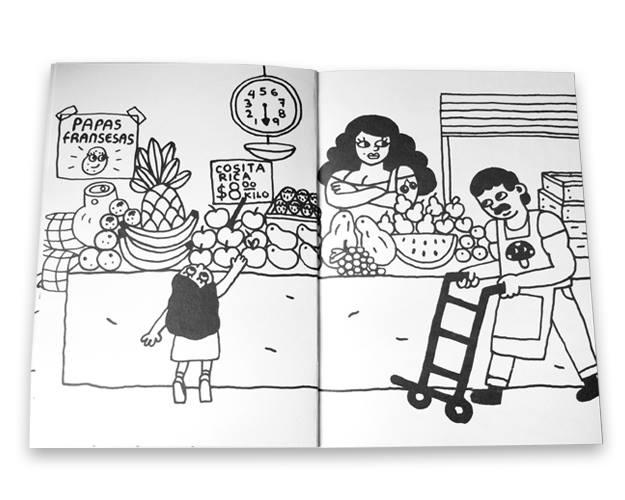 Ilustraciones que exponen la violencia y la hostilidad que se vive en Ecatepec 4