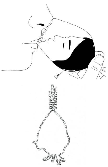 Ilustraciones sobre la diferencia entre abrir mi corazón y abrirte las piernas 11