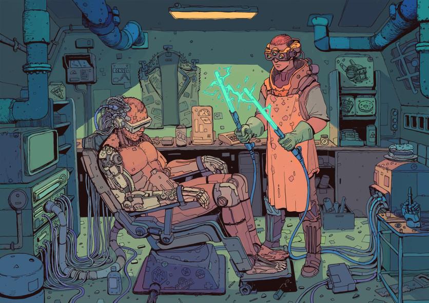 El sombrío y peligroso futuro de la humanidad en 20 ilustraciones 1