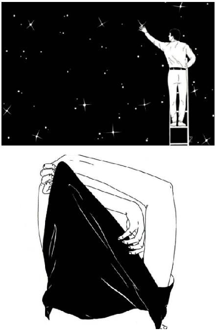 Ilustraciones sobre la diferencia entre abrir mi corazón y abrirte las piernas 5