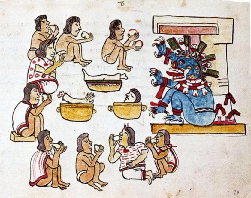 La diosa maya que alentó a miles a quitarse la vida 2